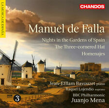 Nights In The Gardens Of Spain/Three-Cornered Hat - M. De Falla (2012, CD NIEUW)