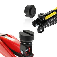 2pcs Universal Trolley Floor Jack Disk Pad Adapter Rubber Pinch Weld Side New we