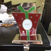 Pier One Christmas Present Stocking Hook Hanger Frame 2x3