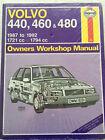 Haynes workshop manual Volvo 440/460/480 87-93