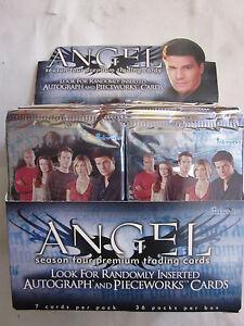 ANGEL SEASON FOUR TRADING CARDS - 10 ASSORTED PACKS INKWORKS