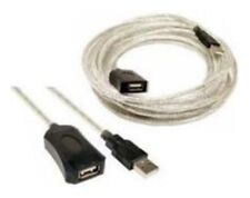 15ft Active/Amplified USB 2.0 Extension Camera/Webcam/Printer Cable Male-Female