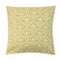 "LUXURY TANGIER BAROQUE GOLD BEIGE THICK CHENILLE CUSHION COVER 24"" - 60CM"