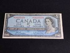 "1954  Canadian  $5 Bill "" Replacement Note"""