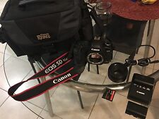 Canon EOS 5D Mark II 21.1 MP Digital SLR Camera - Black (Kit w/ 50mm f(1.4) Len)