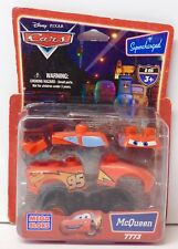 Lightning Mcqueen DISNEY CARS MOVIE Mega Bloks Blok RETIRED New SEALED 7773