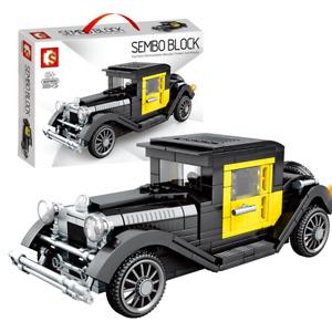 Sembo 607400 Famous Classic Vintage Car interlocking Building Blocks Set 323pcs