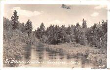RPPC CRANE LAKE MN 1944 The Beautiful Erno River VINTAGE MINNESOTA REAL PHOTO
