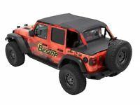 For 2018-2020 Jeep Wrangler Soft Top Bestop 99282VZ 2019