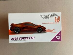 HOT WHEELS 2021 ID CARS CASE D 2020 CORVETTE