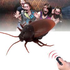 Remote Control Mock Fake Cockroach RC Toys Prank Insects Joke Scary Trick Bugs