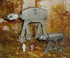 STAR WARS ACTION FLEET ALPHA IMPERIAL AT-AT WALKER COMPLETE W/ 2 MINI FIGURES