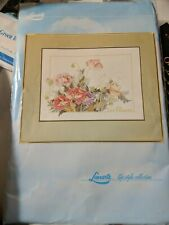 Cross Stitch Kit 48x36.5cm Vtg Lanarte Life Style Collection Les Fleurs 33927