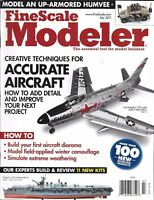 Fine Scale Modeler Magazine Aircraft Detail Diorama Winter Camouflage Weather