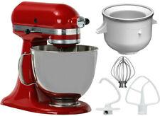 KitchenAid Artisan Küchenmaschine EISTRAUM BUNDLE 5KSM125E / Set rot