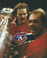 GFA Montreal Canadiens * LARRY ROBINSON * Signed 8x10 Photo AD3 COA