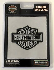 Harley-Davidson Bar & Shield Domed Emblem Sticker Decal NEW