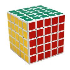 New ShengShou White 5x5 Speed Cube Twisty Magic Puzzle 5x5x5 Educational Toys