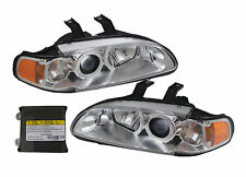 TYC Honda Civic projector front 1 pc head light 2D Philips HID chrome 1992-1995