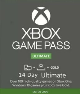 Xbox Game Pass ULTIMATE Live Gold 14 Days CODE TRIAL GLOBAL REGION-FAST DELIVERY