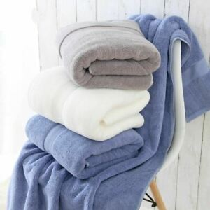 1 Pc Adults Thick Luxury Egyptian Cotton Bath Towel Eco-friendly Beach Terry tow