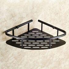 Oil Rubbed Bronze Bathroom Shower Caddy Storage Corner Basket Wall Mounted