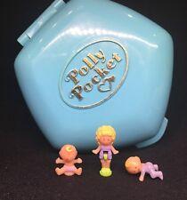 Polly Pocket mini 💛 1992-Polly Pocket Polly In the Nursery Bébé 7.4.