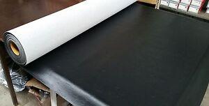 SEDAN SEAT TRIM MATERIAL VINYL BLACK 7 METRES 7M FIT DATSUN NISSAN 510 1600