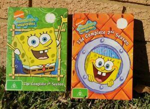 SPONGEBOB SQUAREPANTS Complete Season 1 & 2 Kids Cartoon Series box set bundle