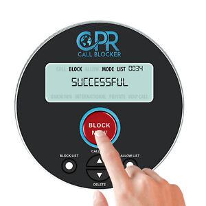CPR V10000 - Bloquear Llamadas Entrantes, Numeros Ocultos y Numeros Privado