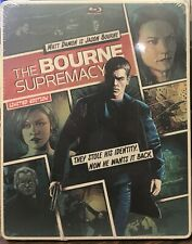 The Bourne Supremacy STEELBOOK (Blu-ray/DVD, 2014, 2-Disc, Digital) NEW SEALED