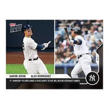 New listing Aaron Judge / Alex Rodriguez - MLB TOPPS NOW® Card 49 - Print Run: 1830