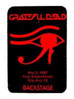 Marvel Mr 7//5//1995 Maryland Heights MO Grateful Dead Backstage Pass Big