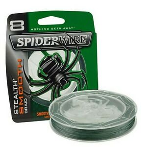 Spiderwire SCSM65G-200 Stealth 65 lb Green Braided Fishing Line