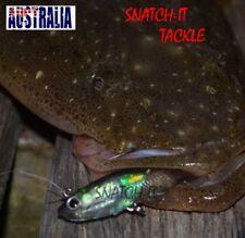 5 Soft Plastics Vibe Lure 85mm Poddy Mullet Rigged Flathead Bream Fishing Lure