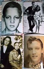 Elvis Presley Pre-Fame Candid Photo Lot of 11 -As a Child,Young Boy & Teen!
