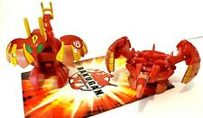 Bakugan Meta Altair Red Pyrus Lot of 2 Altair + Wired New Vestroia 670g + 600g