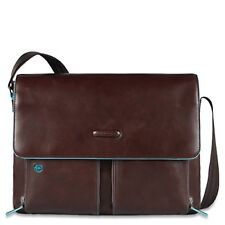 Piquadro Maletín Blue Square Computer Briefcase with flap Mogano