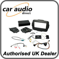 Connects2 CTKJP01 Jeep Renegade 2015> Black Double DIN Radio Installation Kit