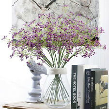 Artificial Fake Baby's Breath Gypsophila Silk Flowers Bouquet Home Wedding Decor