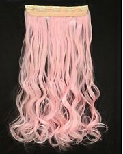 100% Real Thick Long 3/4 Full Head Clip in Hair Extension as Human Mix Ombre YC1