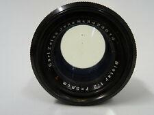 "Carl Zeiss Jena Objektiv BIOTAR 1:2 f = 5.8cm red T "" M42 Vintage Camera Lens"
