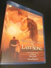 THE LAST SONG: Miley Cyrus, Liam Hemsworth) Blu-ray + DVD) New;Rare I Ship Fast