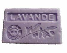Savon de Marseille Bio à l'Huile d'Argan Parfum Lavande 100g Fabriqué en France