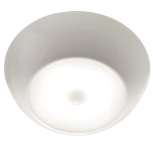 Indoor/ Outdoor 300 Lumen Ultrabright Battery Powered Motion Activated Ceiling L