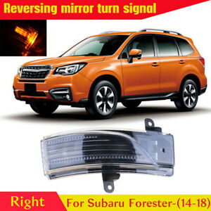 For Subaru Impreza Forester Outback WRX Mirror Turn Signal Light Lamp Right Side
