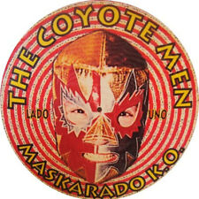 THE COYOTE MEN Maskarado K.O. picture-LP . garage the mummies oblivians