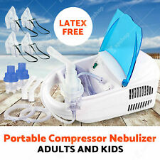 Heavy duty Portable Nebulizer Powerful Asthma Machine Compressor Adults & Kid GA
