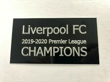 Liverpool FC Premier League Champions - Engraved Plaque for Signed Shirt Frame