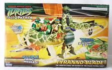 VERY RARE TMNT NINJA TURTLES TYRANNO BLADE HELICOPTER PALEO PATROL NEW !